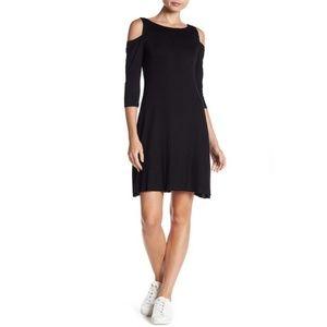 Bailey 44 Riptide Dress Black Sz L NWOT